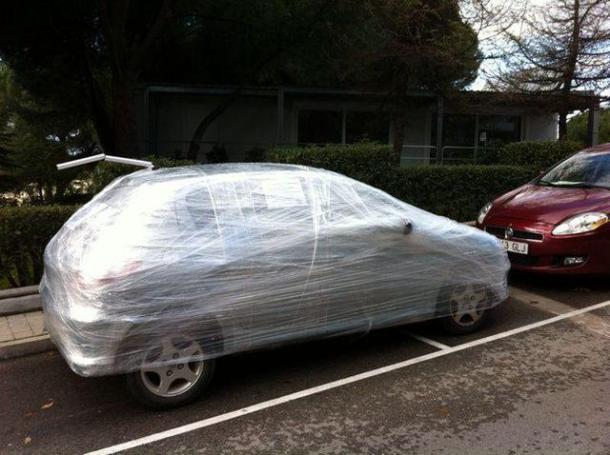 Car in Foil